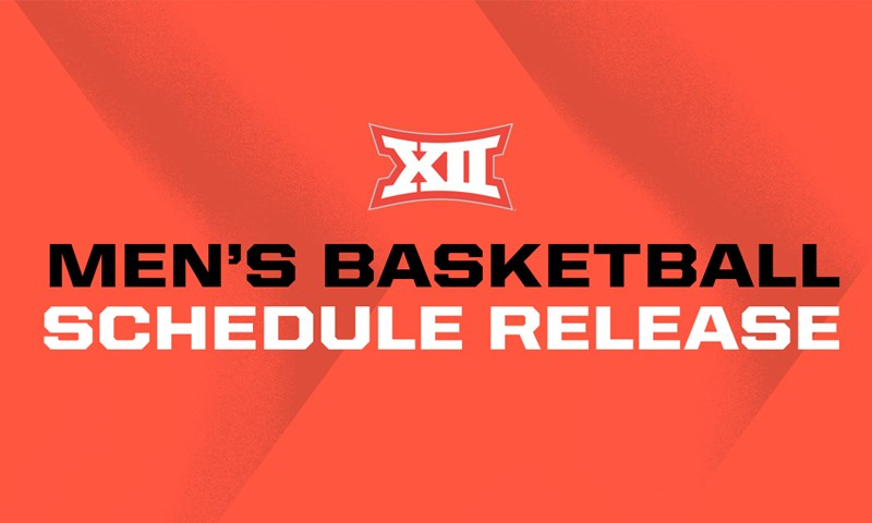 Men S Basketball Conference Schedule Announced Big 12 Conference